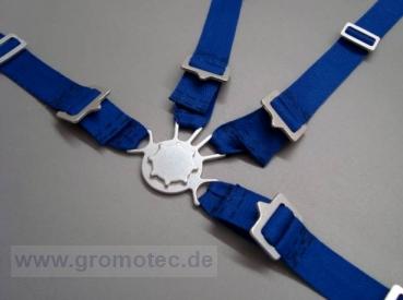 Gurtzeug Maßstab 1:3,5 - 1:4, blau